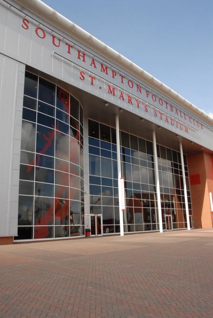 southampton fc stmarys stadium enterance